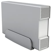"macally™ NSA-S350U3 3.5"" SATA Super-Speed USB 3.0 Aluminum HDD Storage Enclosure, Silver"
