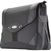 Mobile Edge Select Messenger Bag For 15.4 Notebook, Red/ Black