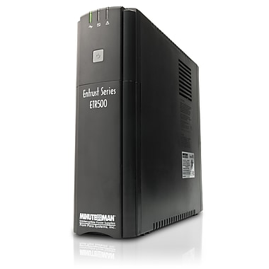 Minuteman® Entrust ETR500 Line Interactive 500 VA UPS With 8 Outlets