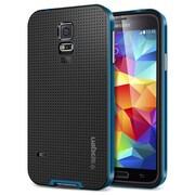 Spigen™ Neo Hybrid Case For Galaxy S5, Electric Blue