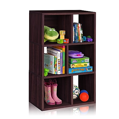 Way Basics Laguna 3 zBoard Recycled Paper Shelf Bookcase
