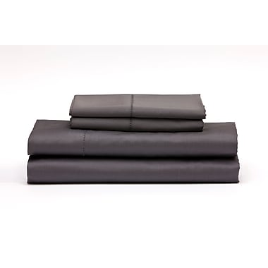 Florence King Sheet Set, Charcoal