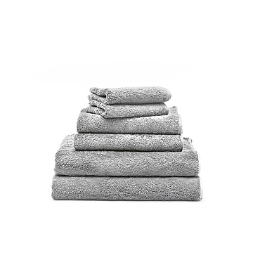Spa Towels Set, Marble Grey