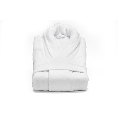 Plush Bathrobe, White