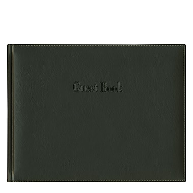 Pierre Belvedere Guest Book, Classic Black