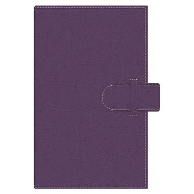 Pierre Belvedere A5 Refillable Notebook, Plum