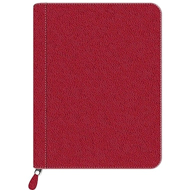 Pierre Belvedere Zipper Portfolio, Red