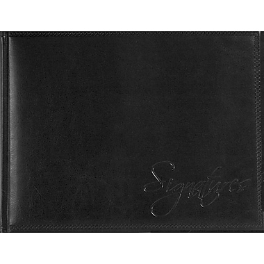 Pierre Belvedere Signatures Guest Book, Black
