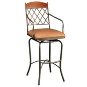 Impacterra Napa Ridge 30'' Swivel Bar Stool with Cushion