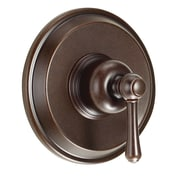 Danze Opulence Pressure Balance Diverter Shower Faucet Trim w/ Level Handle; Tumbled Bronze