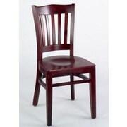 Alston Classico Side Chair; Mahogany