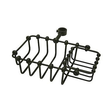 Elements of Design Vintage Shower Caddy; Dark Bronze