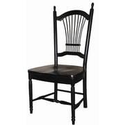 Sunset Trading Sunset Selections Allenridge Comfort Back Side Chair; Antique Black