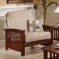 Elite Products Bridgeport  Jr. Twin Chair; Walnut