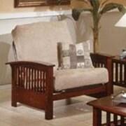 Elite Products Bridgeport  Jr. Twin Chair; Espresso
