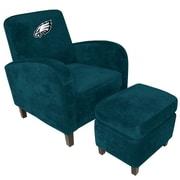 Imperial NFL Den Armchair and Ottoman; Philadelphia Eagles