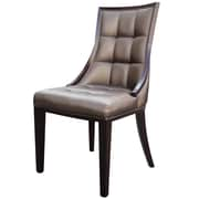 International Design Barrel Side Chair (Set of 2); Champagne