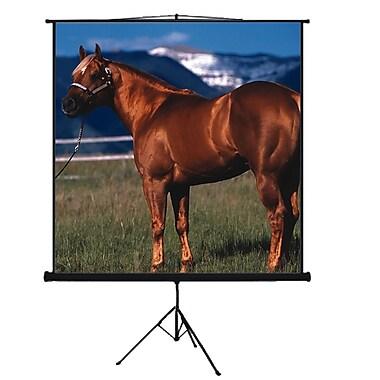 Mustang Matte White Portable Projection Screen; 100'' diagonal