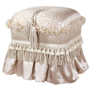 Jennifer Taylor Cassandra Traditional Decoraitve Ottoman