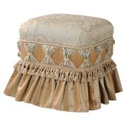Jennifer Taylor Savannah Ruffle Skirt Ottoman
