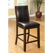 Hokku Designs Dark Dutch Counter Height Side Chair (Set of 2)