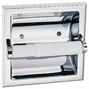 Design House Millbridge Recessed Toilet Paper Holder; Polished Chrome