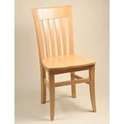 Alston Infiniti Side Chair; Mahogany