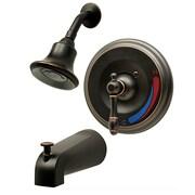 Aqueous Faucet Teabury Tub and Shower Faucet Trim Level Handle; Brushed Bronze