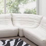 dCOR design Carnival Leatherette Single Seat Chair; Espresso