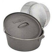 Bayou Classic Dutch Oven w/ Perforated Basket; 20 Quart