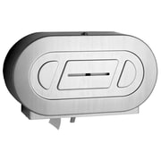 Bobrick Classic  Series Twin Jumbo-Roll Toilet Paper Dispenser
