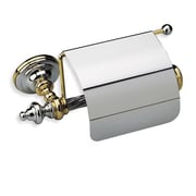 Stilhaus by Nameeks Giunone Wall Mounted Toilet Roll Holder; Chrome and Gold