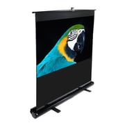 Elite Screens MaxWhite ez-Cinema Series Floor Stand TeleScoping Pull Up Screen - 80'' Diagonal