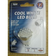 Alpine 1W 12-Volt LED Light Bulb (Pack of 12)