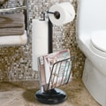 Better Living Products Free Standing The Toilet Caddy; Oil Rubbed Bronze