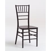 Commercial Seating Products Max Series Resin Chiavari Side Chair; Black