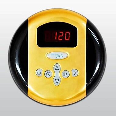 Steam Spa SteamSpa Programmable Control Panel w/ Presets; Gold