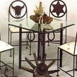 Grace Horseshoe Dining Table; Ivory