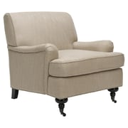 Safavieh Sierra Chair; Taupe Linen