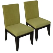 Carolina Accents Montgomery Parsons Chair (Set of 2); Kiwi