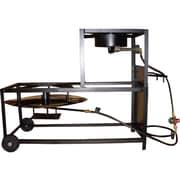 King Kooker Portable Propane Bolt Together 30'' Fryer Boiling Cart Package