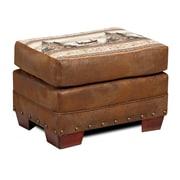 American Furniture Classics Lodge Alpine Ottoman