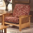 Elite Products Bridgeport  Jr. Twin Chair; Golden Oak