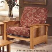 Elite Products Bridgeport  Jr. Twin Chair; Golden Oak