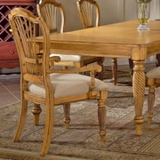 Hillsdale Wilshire Dining Arm Chair (Set of 2); Antique Pine