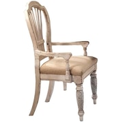 Hillsdale Wilshire Dining Arm Chair (Set of 2); Antique White