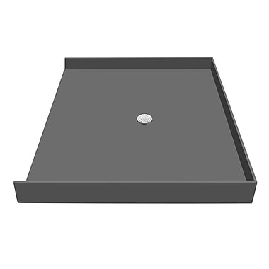 Tile Redi Shower Pan; 5.75'' H x 63'' W x 30'' D
