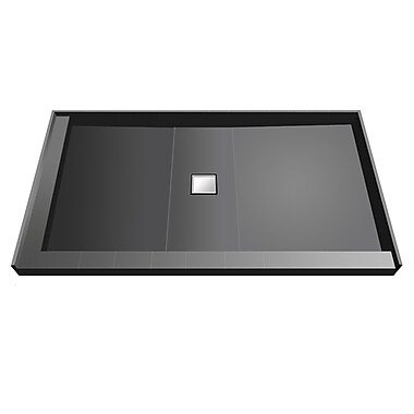 Tile Redi Shower Module; 5.75'' H x 60'' W x 34'' D