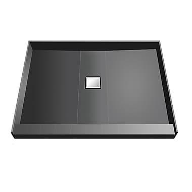 Tile Redi Shower Pan; 5.75'' H x 48'' W x 48'' D