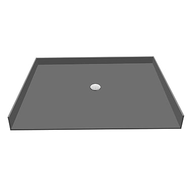 Tile Redi Shower Pan; 5.75'' H x 63'' W x 36'' D